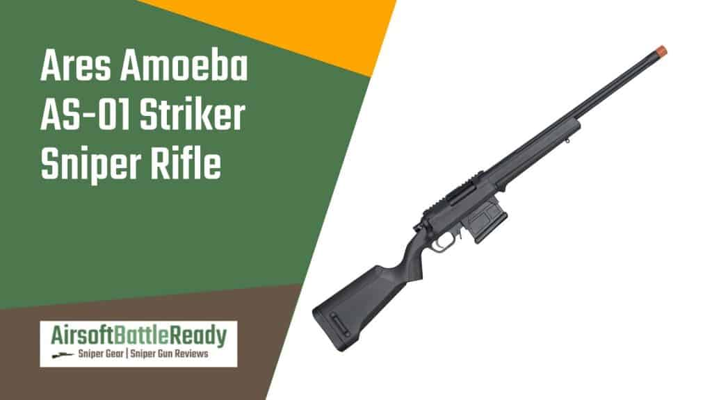 Ares Amoeba AS-01 Striker Sniper Rifle Review - Airsoft Battle Ready