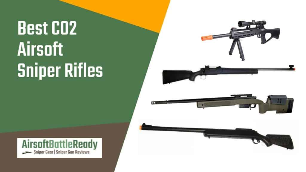 Best CO2 Airsoft Sniper Rifles - Airsoft Battle Ready