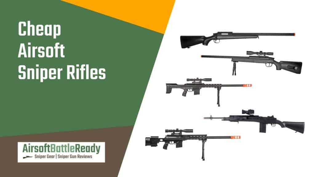 Cheap Airsoft Sniper Rifles - Airsoft Battle Ready