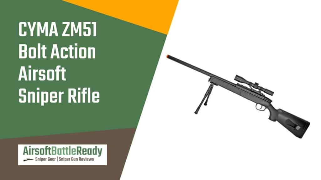 Cyma ZM51 Bolt Action Airsoft Sniper Rifle Review - Airsoft Battle Ready