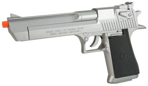 Evike Desert Eagle Licensed Magnum 44 SIlver Airsoft Pistol