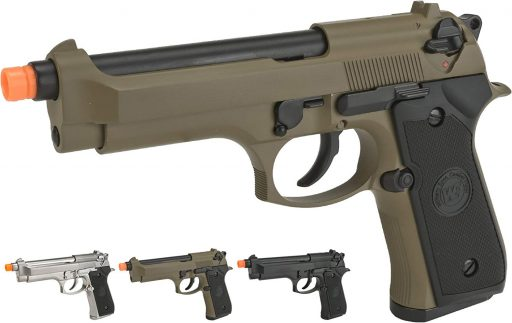 Evike WE-USA NG3 M9 Heavy Weight Airsoft GBB Professional Training Pistol