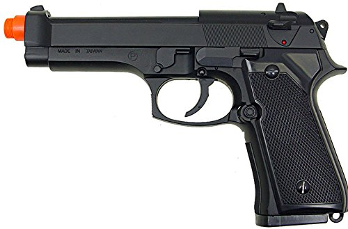 HFC Model-118B M9 Heavy Weight Black Spring Pistol Airsoft Gun