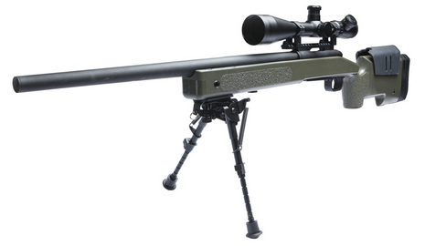 McMillan M40A3 Airsoft Sniper Rifle OD/Black By ASG
