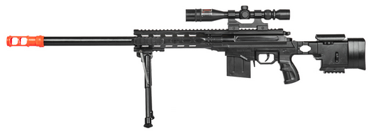 P2589 Plastic Railed Spring Sniper Rifle