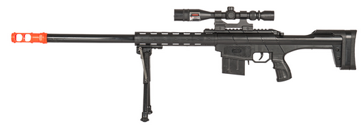 P2912A Spring Sniper Rifle W/ Scope & Bipod
