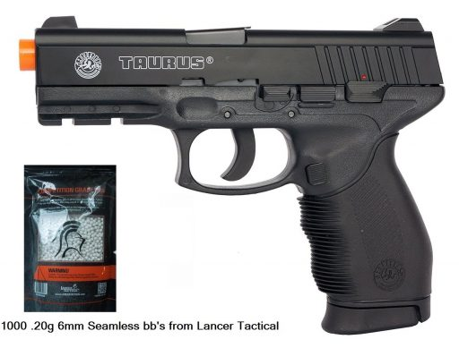 Taurus 24/7 Spring Airsoft Pistol from Lancer Tactical