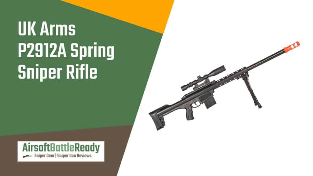 UK Arms P2912A Spring Sniper Rifle Review - Airsoft Battle Ready