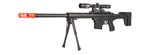UK Arms P2912A Spring Sniper Rifle - Scope Bipod